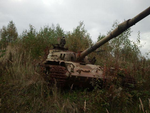 Танковый полигон в Кубинке :)