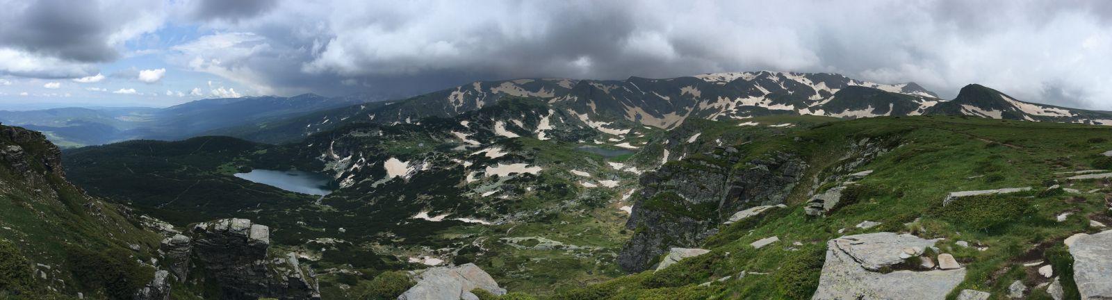 Рильские горы панорама