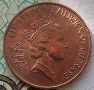 Гернси 2 пенса 1985г ФАО UNC 751.JPG