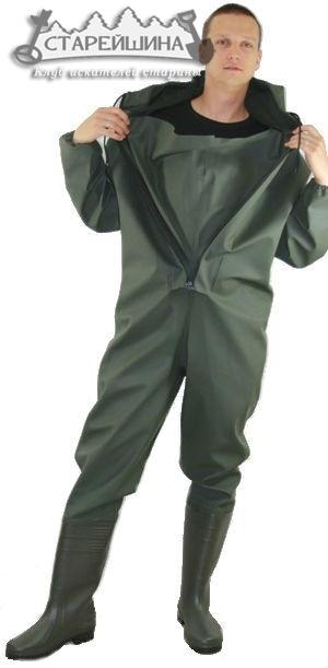 купить рыбацкий полукомбинезон костюм