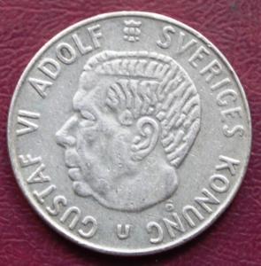 Швеция 1 крона 1966 190р.JPG