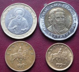 2 Лева, 1 Лев, 5 и 2 стотинки 150р 1.JPG